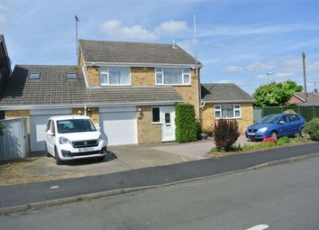 Thumbnail 4 bed detached house for sale in Leofric Avenue, Bourne, Lincolnshire