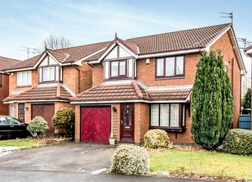 Thumbnail 4 bed detached house for sale in Tytherington Drive, Reddish, Manchester