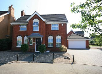 Thumbnail 4 bed detached house for sale in Longmeadow, Wootton, Northampton