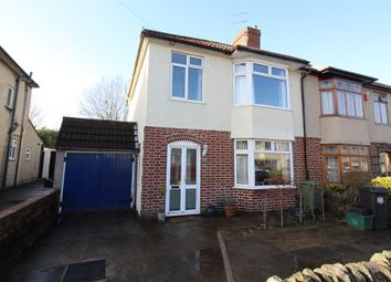 Thumbnail 3 bed semi-detached house for sale in Frome Valley Road, Stapleton, Bristol