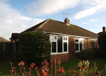 Thumbnail 2 bedroom bungalow to rent in Cannerby Lane, Norwich