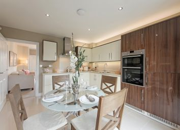 "Thumbnail 2 bedroom semi-detached house for sale in ""The Oak"" at Winchester Road, Boorley Green, Botley"