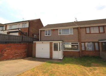 Thumbnail 3 bedroom semi-detached house for sale in Middlebeck Drive, Arnold, Nottingham