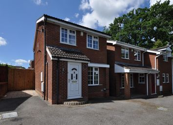 Thumbnail 3 bed detached house for sale in Stoneleigh Close, Redditch