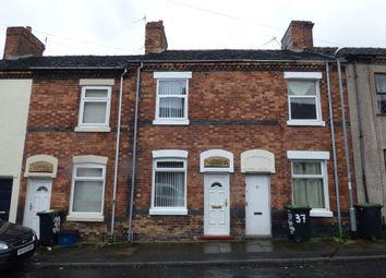 Thumbnail 2 bedroom terraced house to rent in Rutland Street, Hanley, Stoke-On-Trent