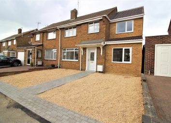 Thumbnail 4 bed semi-detached house for sale in Grange Drive, Stratton St Margaret, Swindon