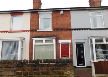 Thumbnail 2 bed terraced house for sale in Reindeer Street, Mansfield