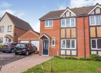 Thumbnail 3 bed semi-detached house for sale in Ensign Close, Cowes