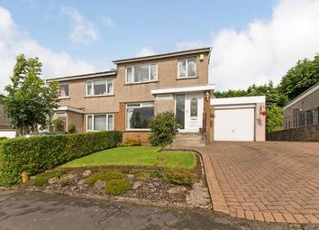 Thumbnail 3 bed semi-detached house for sale in Lochnagar Drive, Bearsden, Glasgow, East Dunbartonshire