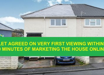 Thumbnail 3 bed property to rent in Heol Pen Y Parc, Llantrisant, Pontyclun
