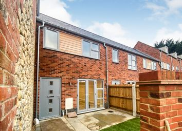 Thumbnail 2 bed terraced house for sale in Swaffham Road, Dereham