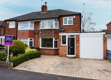 Thumbnail 3 bed semi-detached house for sale in Cherry Tree Road, Cheadle Hulme