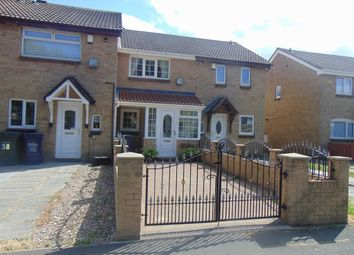 Thumbnail 2 bed terraced house for sale in Yatesbury Avenue, Newcastle Upon Tyne