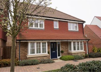 Thumbnail 4 bed detached house for sale in Brambling Avenue, Ashford