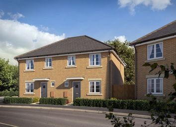 "Thumbnail 3 bed semi-detached house for sale in ""The Valor"" at Clarks Close, Yeovil"