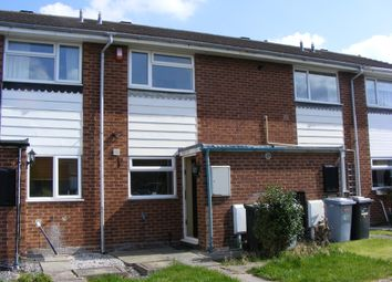 Thumbnail 2 bedroom town house to rent in Bidvale Way, Crewe