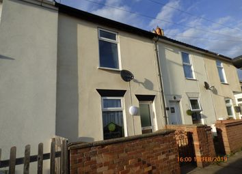 Thumbnail 2 bed terraced house to rent in Pakefield Street, Pakefield, Lowestoft
