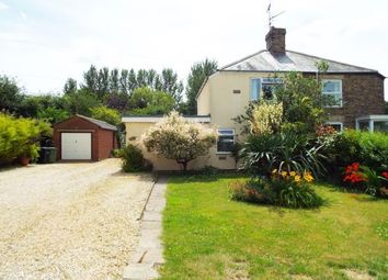 Thumbnail 3 bed semi-detached house for sale in Walton Highway, Wisbech, Norfolk