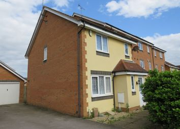 Thumbnail 3 bedroom end terrace house for sale in Violet Close, Corby