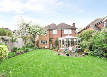 Thumbnail 4 bed detached house for sale in Chertsey Road, Chobham, Woking, Surrey