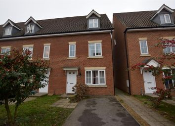 Thumbnail 3 bedroom town house for sale in Whistlefish Court, Norwich