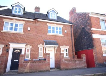 Thumbnail 4 bed end terrace house to rent in Russell Street, Kettering