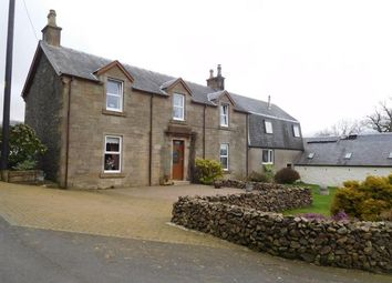 Thumbnail 5 bed farmhouse to rent in East Borland Farm House, Dumfries Road, Cumnock
