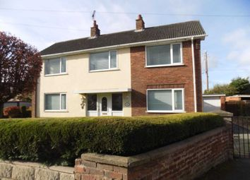Thumbnail 3 bed detached house for sale in Church Road, Buckley, Flintshire.