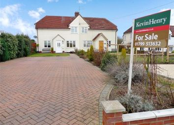 Thumbnail 3 bed semi-detached house for sale in Kings Hill, Kedington, Haverhill, Suffolk