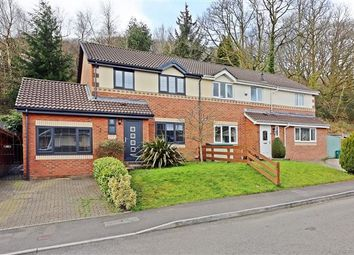 Thumbnail 3 bed semi-detached house for sale in Kingswood, Maesycoed, Pontypridd