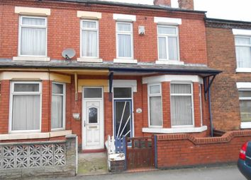 Thumbnail 3 bed terraced house for sale in Broad Street, Crewe, Cheshire