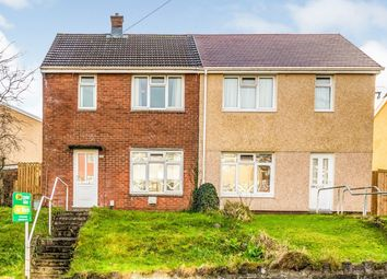 Thumbnail 2 bed semi-detached house for sale in Hollett Road, Treboeth, Swansea