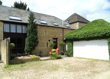 Thumbnail 4 bedroom barn conversion to rent in Grove Lane, Longthorpe