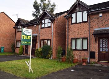 Thumbnail 2 bed terraced house to rent in Plattbrook Close, Manchester