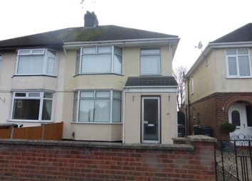 Thumbnail 3 bedroom property to rent in Woodlands Avenue, Corby