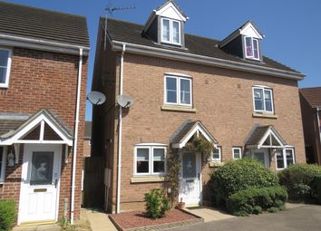 Thumbnail 3 bed semi-detached house for sale in Fennel Crescent, Downham Market