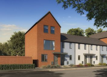 "Thumbnail 3 bed end terrace house for sale in ""The Greyfriars"" at Powell Duffryn Way, Barry"