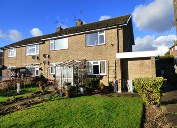 Thumbnail 2 bed flat for sale in Risedale, Caistor, Market Rasen, Lincs