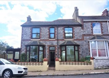 Thumbnail 4 bed end terrace house for sale in Carlton Road, Torquay