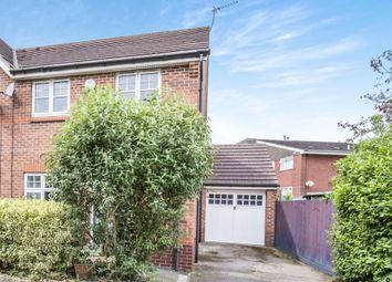 Thumbnail Semi-detached house for sale in Queens Drive, Enderby, Leicester