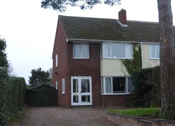 Thumbnail 3 bed semi-detached house for sale in Church Road, Hereford