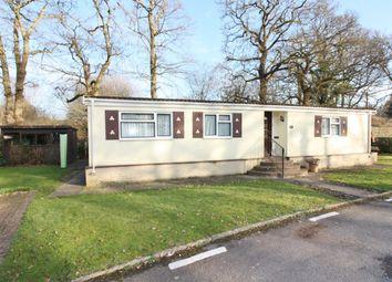 Thumbnail 2 bed mobile/park home for sale in Whitehill Park, Whitehill, Bordon