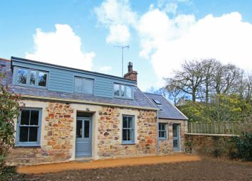 Thumbnail 4 bed detached house for sale in La Rue Des Vaux De L'eglise, St. Martin, Jersey