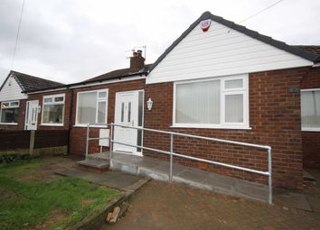 Thumbnail 3 bed semi-detached bungalow to rent in Hyde Drive, Walkden, Manchester