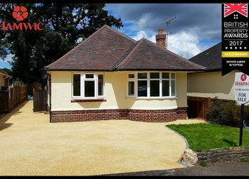 Thumbnail 3 bedroom detached bungalow for sale in Copsewood Road, Southampton