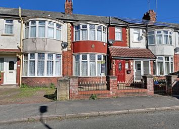 Thumbnail 3 bedroom terraced house for sale in Lake Drive, Hull