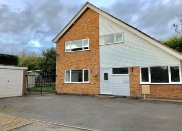 Thumbnail 3 bed detached house to rent in Pells Close, Fleckney