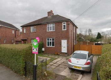 Thumbnail 2 bed semi-detached house for sale in Woodlands Avenue, Cheddleton, Leek