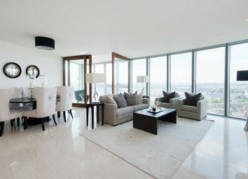 Thumbnail 3 bed flat to rent in The Tower, 1 St George Wharf, Vauxhall