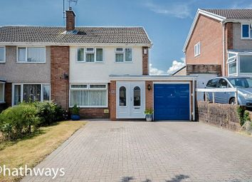 Thumbnail 4 bed semi-detached house for sale in Rowan Way, Newport